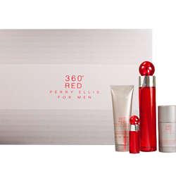 Men's Perry Ellis 360 Red Eau De Toilette Spray Set