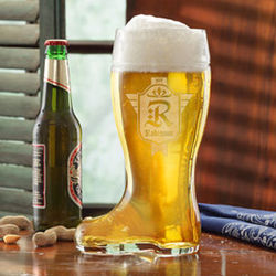 Personalized Family Crest Beer Boot