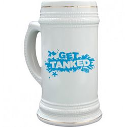 Get Tanked Stein with Coral Graphic