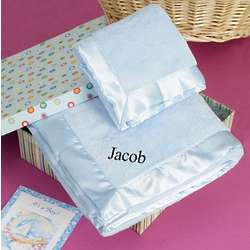 Personalized Pastel Blanket and Blankie