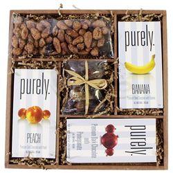 Vegan Chocolate Bars Wood Gift Tray