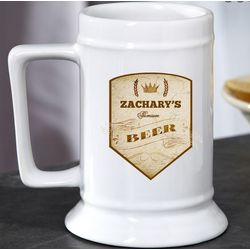 Premium Style Personalized Beer Stein