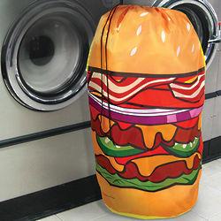 Hamburger Hamper Laundry Bag