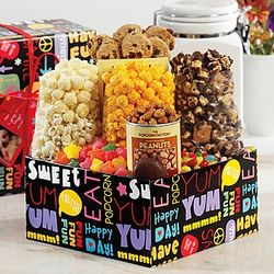 Fun with Snacks and Sweets Sampler Gift Box