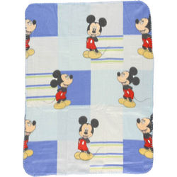Mickey Mouse Ever the Optimist Fleece Blanket