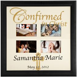 Personalized Confirmed in Christ Collage Picture Frame