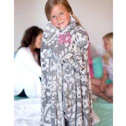 Parker Paisley Plush Blanket
