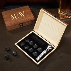 Quinton Personalized Diamond Whiskey Stones