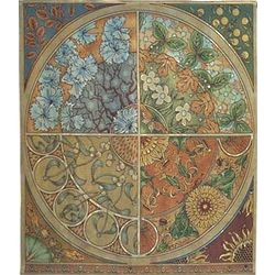 Seasonal Medallion Tapestry