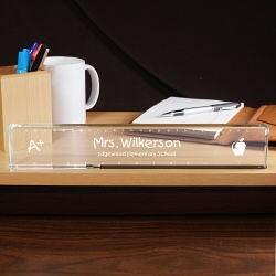 Personalized Teacher Desk Nameplate