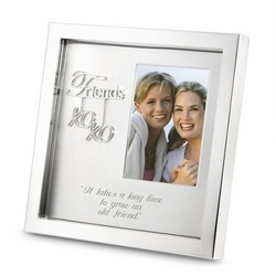 Silver Friends Shadowbox Frame