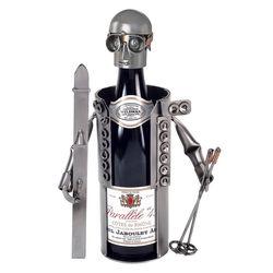 Skier Wine Holder