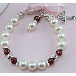 Customized Freshwater Cultured Pearl Bracelet