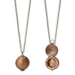 Penny Locket Necklace