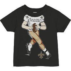 Toddler's New Orleans Saints Player Black T-Shirt