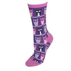 Owl Trouser Socks