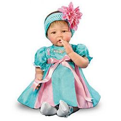 Everlasting Faith Lifelike Breast Cancer Charity Baby Doll