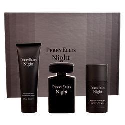 Perry Ellis Night Men's Eau De Toilette Spray Set