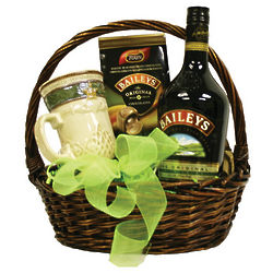 Bailey's Irish Gift Basket with Chocolates