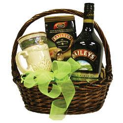 Bailey's Irish Gift Basket with Chocolates