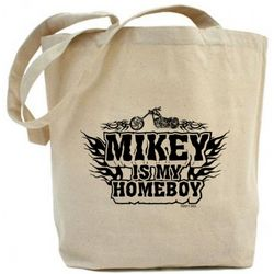 American Chopper Mikey Is My Homeboy Tote Bag