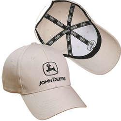 John Deere Twill Cap
