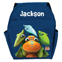 Dinosaur Train Personalized Blue Backpack