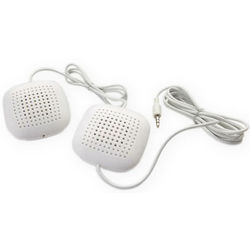 Sleep Therapy Pillow Speakers with Inline Volume Control