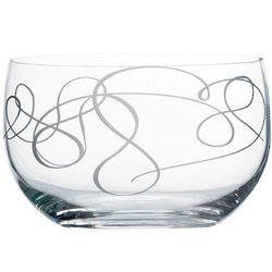 Love Story 9 Inch Crystal Bowl