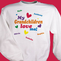 Love Me Personalized Sweatshirt