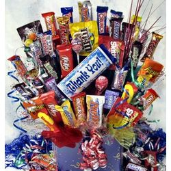Large Sweet Thanks Candy Bouquet