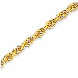 14k Yellow Gold Splendid Classy Ankle Bracelet
