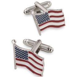 American Flag Enamel Cufflinks
