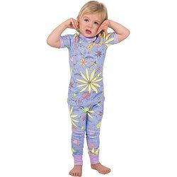 Wildflower Toddler Pajamas