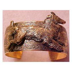 Collie Sheltie Cuff Bracelet
