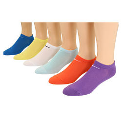 Women's Lightweight No Show 6-Pair Pack of Socks