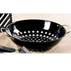 Porcelain Grill Top Wok