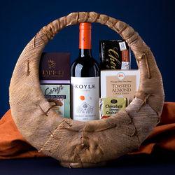 Good Cheer Wine Gift Basket
