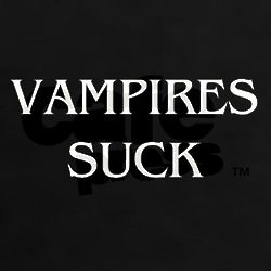 Vampires Suck Women's Dark T-Shirt