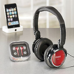 Headphones and Earbuds Set