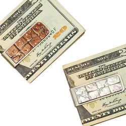 Patchwork Coin Money Clip