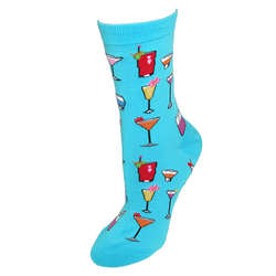 Tropical Drinks Trouser Socks