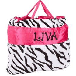 Zebra Stripes Nap Bag
