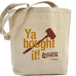 Auction Kings Ya Bought It Tote Bag