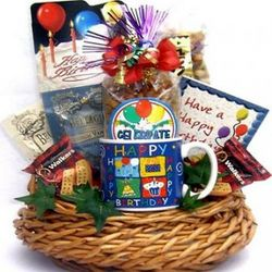 Birthday Bash Gourmet Gift Basket