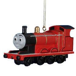 Thomas The Train Red Ornament