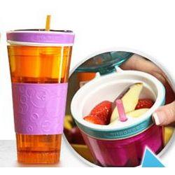 Snackeez Travel Cup
