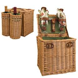 Vino Picnic Basket for 2