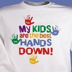 Best Hands Down Personalized Sweatshirt