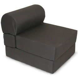 Black Foam Sleeper Chair